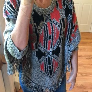 MOSSIMO sweater poncho never worn size SM